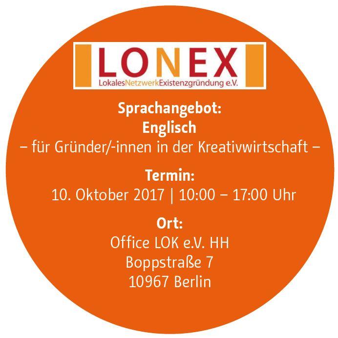 Elisabeth Klee Lonex 10.10.2017 Start up Seminar